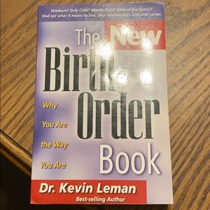 """Other - NWOT book""""The New Birth Order Book"""""""